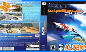 تحميل لعبة Wipeout Pulse psp iso مضغوطة لمحاكي ppsspp