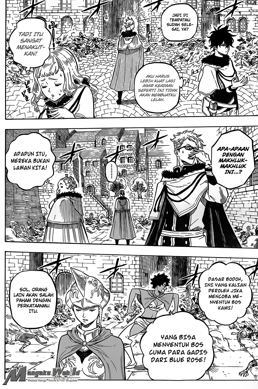 Black Clover Chapter 28 Blackout