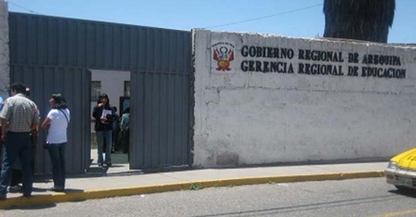 GRE Arequipa confirma descuentos por huelga docente y asegura que no habrá reemplazo de maestros