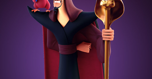 Jafar and Iago, Disney's Aladdin