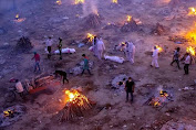 Gelombang Kematian Akibat Corona Masih Menghantui India