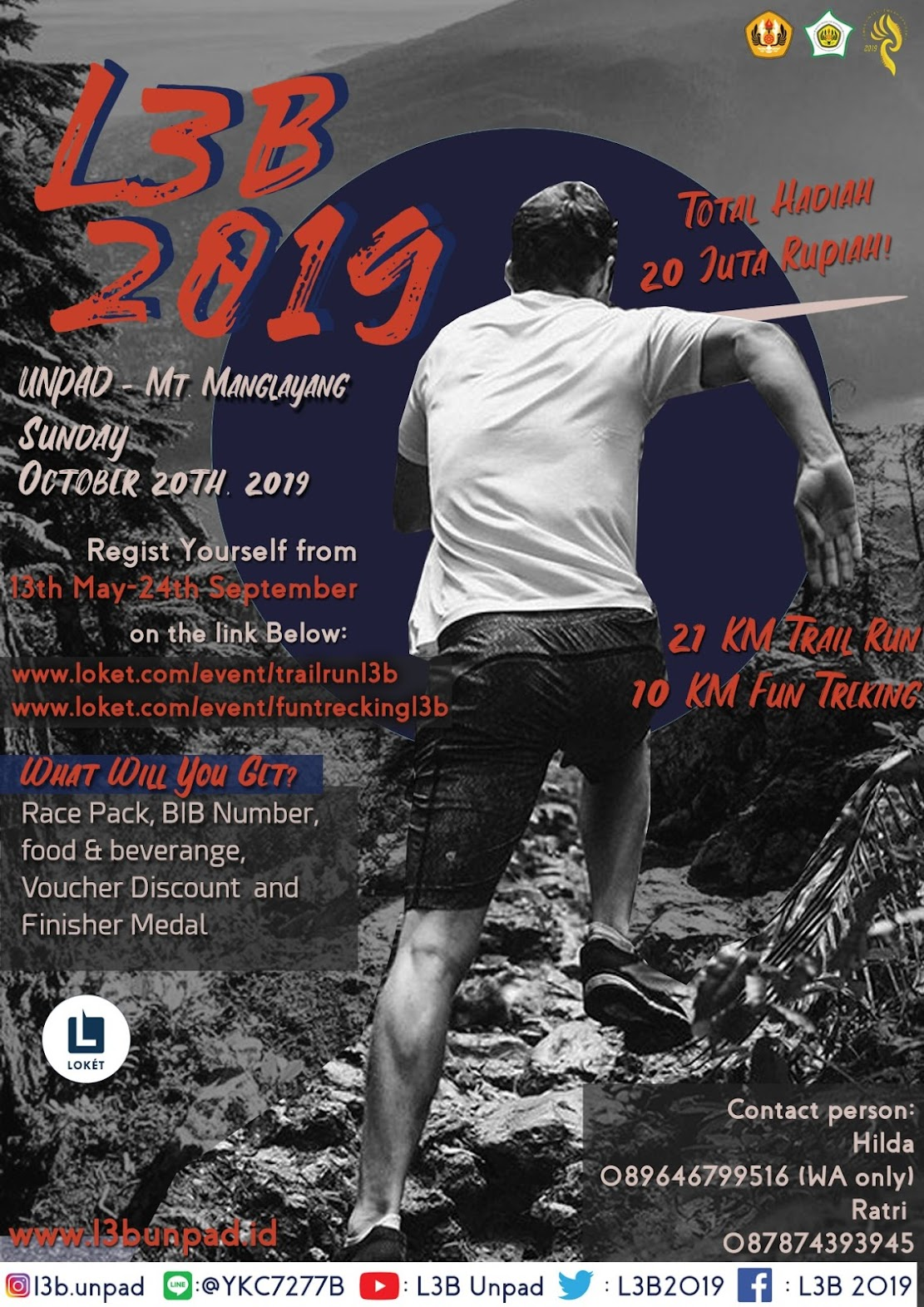 Lomba Lintas Lembah dan Bukit - L3B • 2019