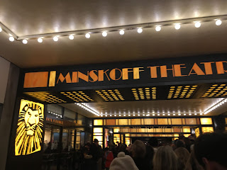 The Minskoff Theatre alley