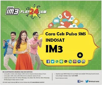 Mengetahui Sisa Pulsa SMS Indosat (IM3)