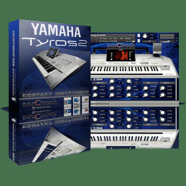 norCTrack Yamaha TYROS 2 KONTAKT Library