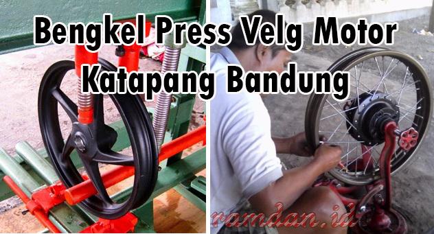 Service Velg Motor Murah Meriah Katapang Bandung