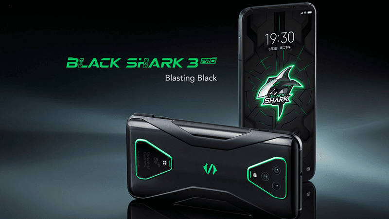 Black Shark 3, 3 Pro with SD865 and real shoulder triggers announced!