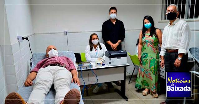 Queimados inaugura Sala de Eletroencefalograma