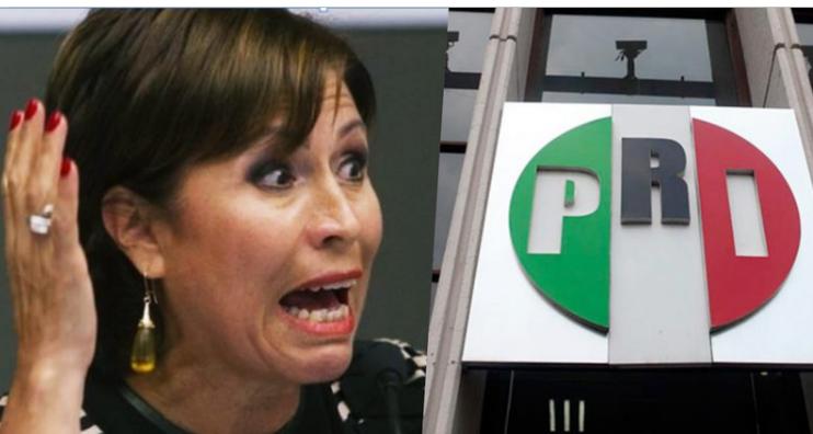 #NoEsBroma: Asegura el PRI que Rosario Robles NO es priista.