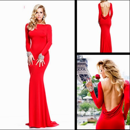 Evening dresses for valentines day