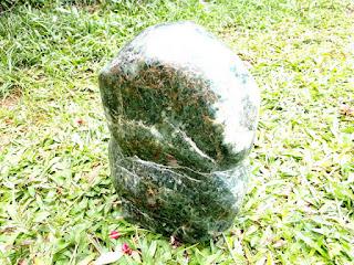 Bahan Batu Giok Jade RJD001 Jumbo Natural Sudah Dipoles