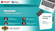 PLDT empowers teachers and students for blended learning with a webinar series