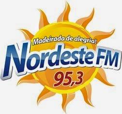 Rádio Nordeste FM de Feira de Santana BA ao vivo
