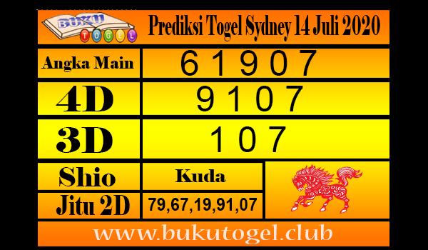 Prediksi Togel Sydney 14 Juli 2020