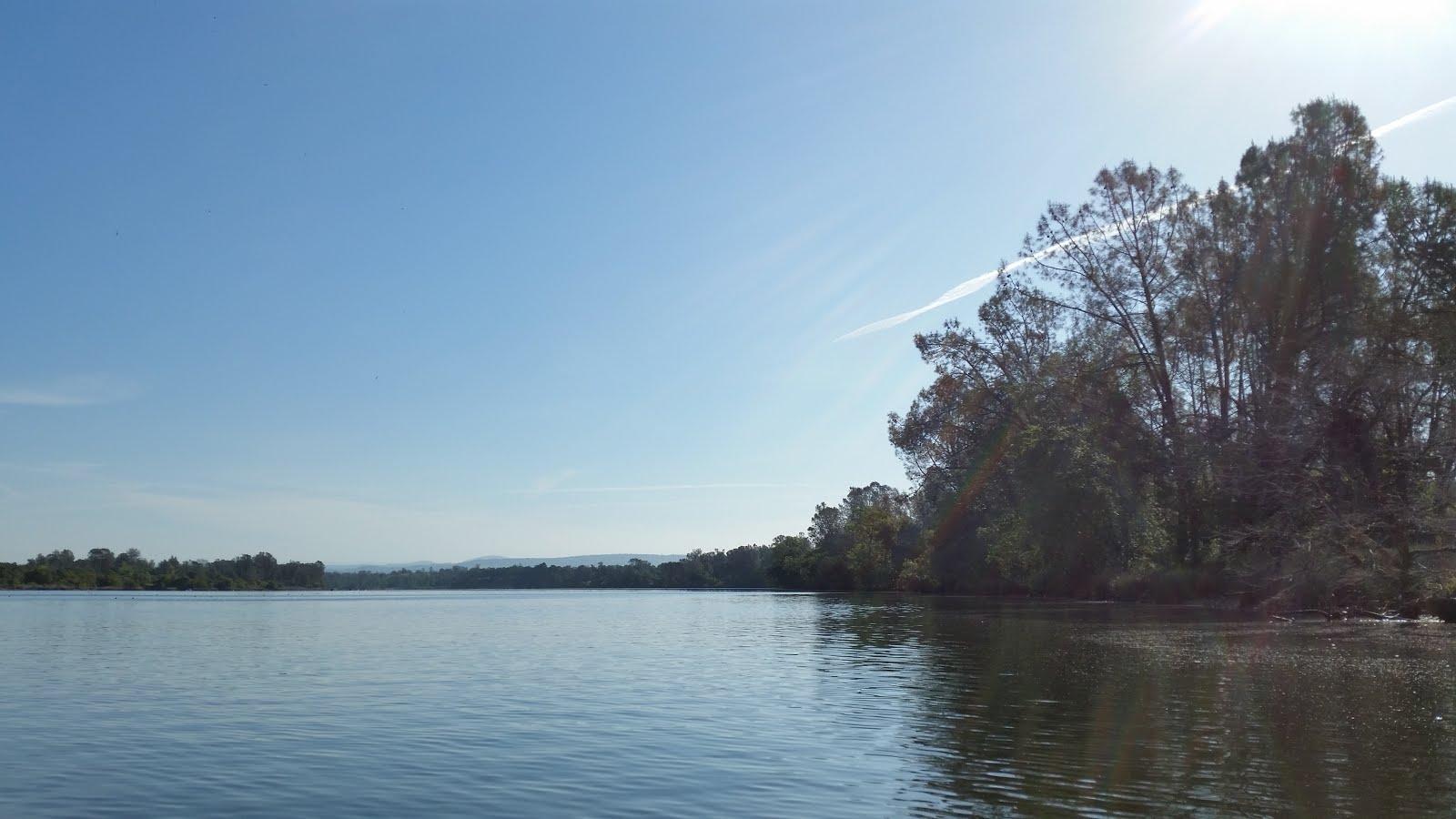 Kayaking time for Lake natoma fishing