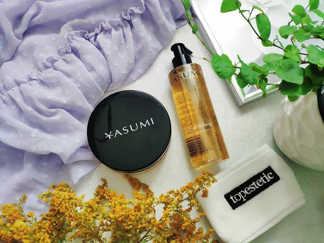 Yasumi - Ujędrniający olejek i peeling do ciała z Topestetic