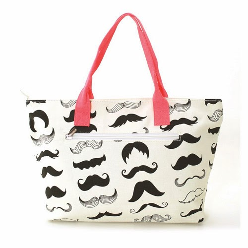 mustache gift idea for sister, daughter, granddaughter, niece with a thing for a mustache