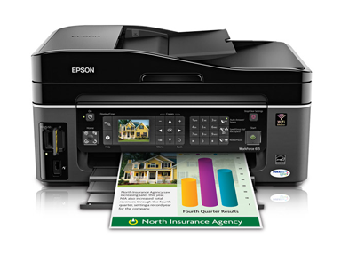 Epson workforce 610 connect to computer