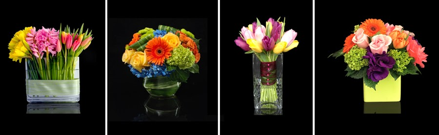 Custom Spring Floral Arrangements Boston