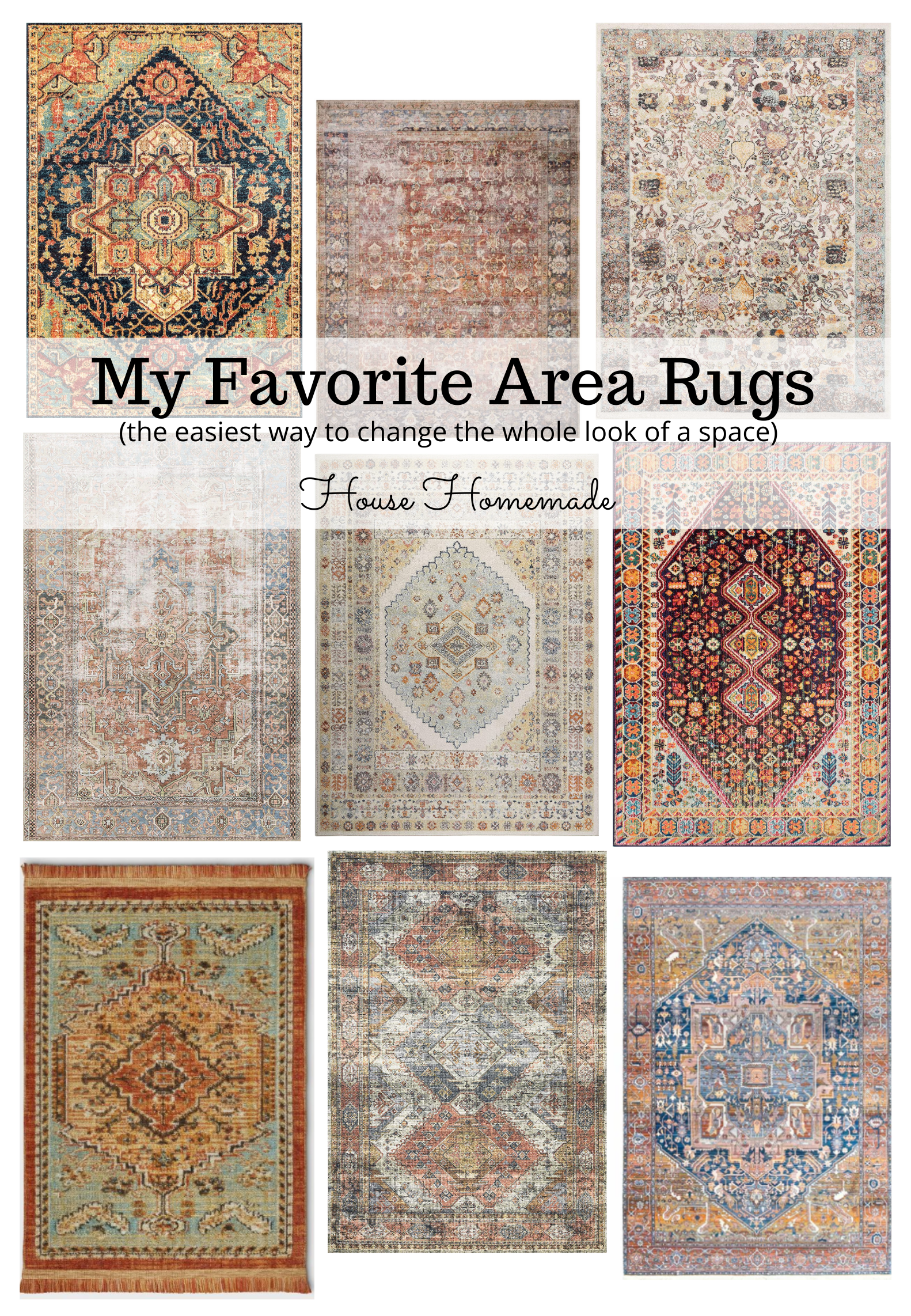area rug round up