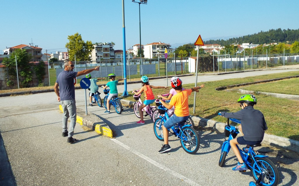 Ασφάλεια και μάθηση για τη μετακίνηση στα Τρίκαλα