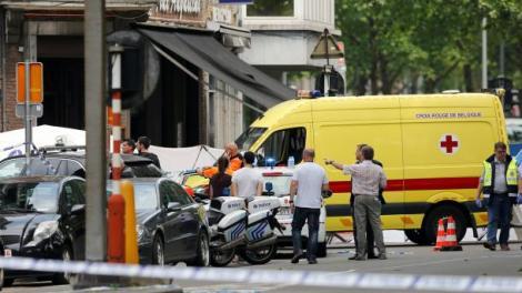 مقتل 3 بينهم رجل أمن في هجوم مسلح بمدينة لييج البلجيكية