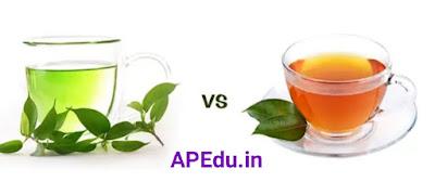 Green tea vs. black tea .. Explanation of which tea is better.