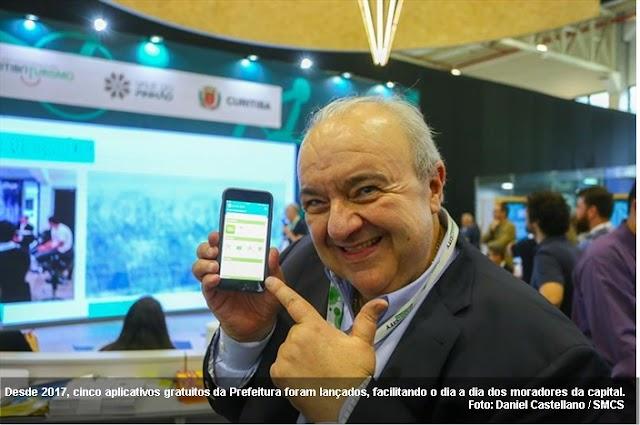 Aplicativos e serviços on-line a serviço do cidadão curitibano