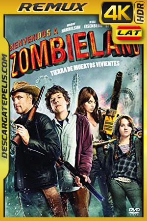 Zombieland (2009) 4k BDRemux HDR Latino – Ingles