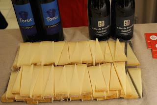 Vin et Fromage chez Milan et demi