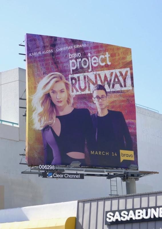 Project Runway Bravo season 17 billboard