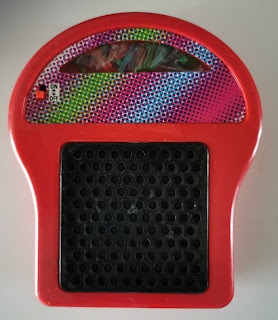 LED Glow Art Lighted Peg Display outside of its packaging