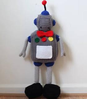PATRON GRATIS ROBOT AMIGURUMI 40468