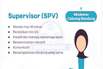 Lowongan Kerja Bandung Supervisor Modeena Skin Clinic