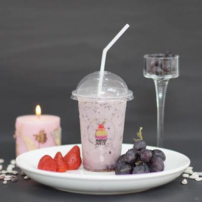 menu Nano-nano Juice di Jalan Gajah Mada No.140.  Cerpen: Menunggumu di Nano-nano Juice Pontianak