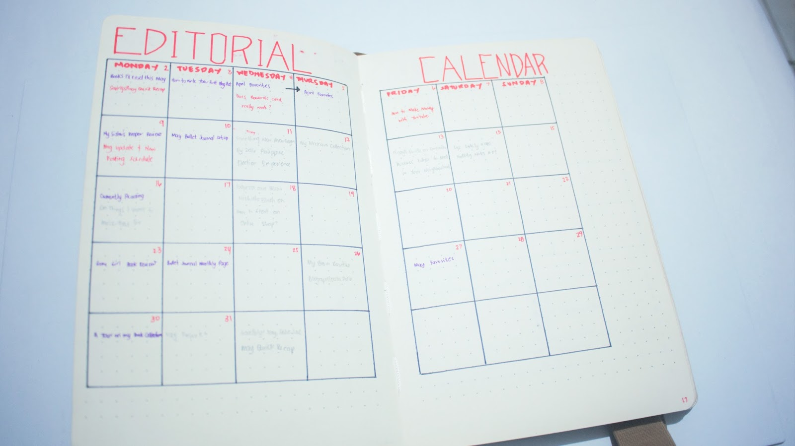 Qt Weekly Calendar : May bullet journal set up izzaglino pinay beauty