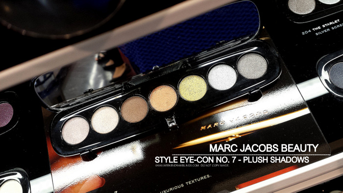 Marc Jacobs Beauty Eye-Con No 7 - Plus Eyeshadows Palettes - Lolita 206 - Vamp 208 - Tease 206 - Starlet 204 - Photos - Swatches