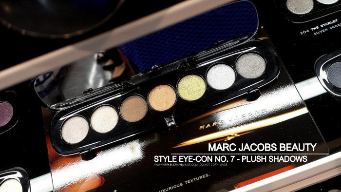 Marc Jacobs Beauty Eye-Con No 7 - Plus Eyeshadows Palettes - Lolita 206 - Vamp 208 - Tease 206 - Starlet 204 - Photos - Swatches