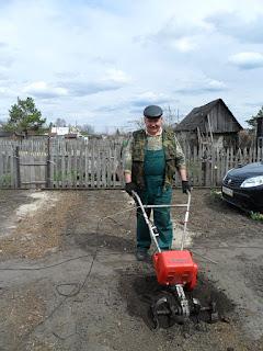 Работать с садовым культиватором очень просто