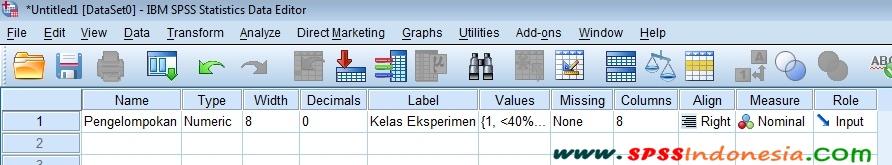 Cara Membuat Diagram Batang dan Tabel Distribusi Frekuensi Nilai Gain Score SPSS