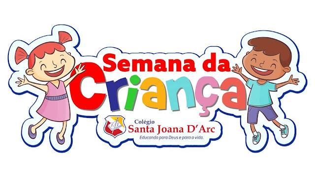 Colégio Santa Joana D'Arc, inicia a semana da criança com atividades lúdicas e transformadoras.