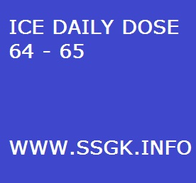 ICE DAILY DOSE 64 - 65