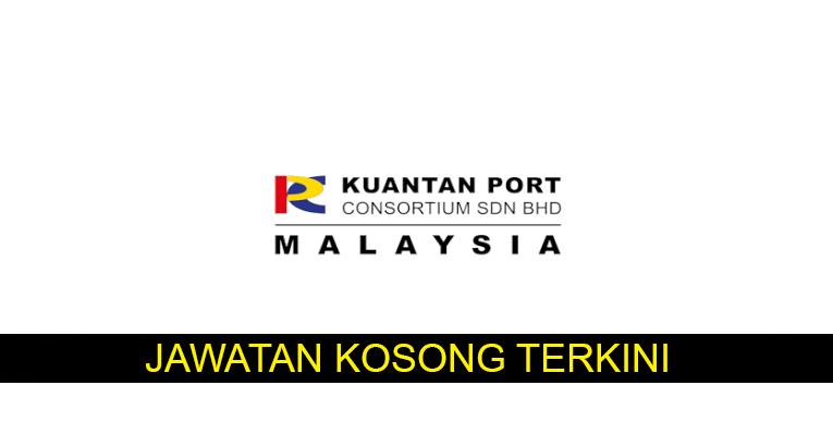 Kekosongan terkini di Kuantan Port Consortium Sdn Bhd