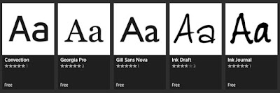 How to download fonts from Microsoft Store-image 5