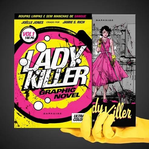 DarkSide lança nova graphic novel: Lady Killer