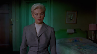 Kim Novak as Judy Barton as Madeleine in Alfred Hitchock's Vertigo
