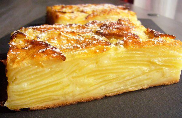 La recette du gâteau invisible aux pommes ultra facile