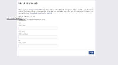 Rip tên giả Facebook