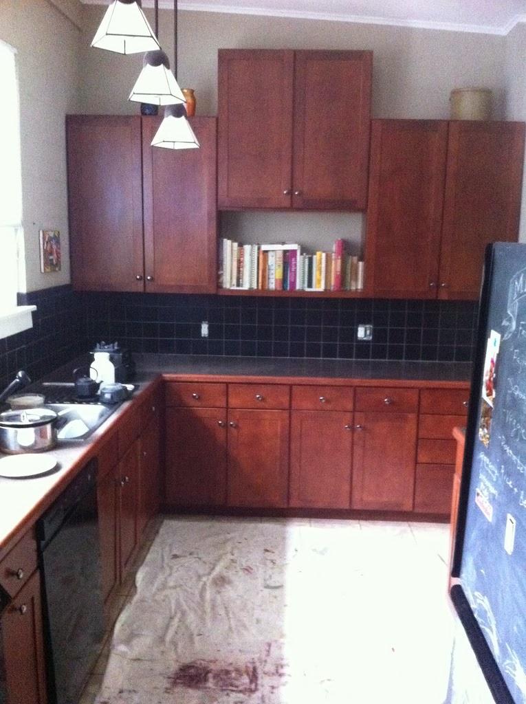 Painting Kitchen Tiles: Mybluehaven: Paint Your Tile Backsplash
