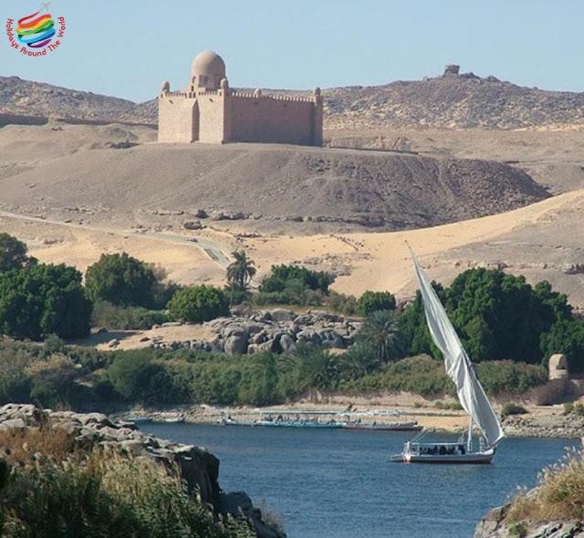 Aga Khan Mausoleum - Aswan